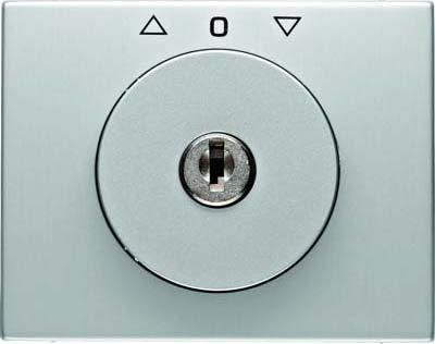 Hager 10797303 interruptor de luz Aluminio - Interruptores de luz (Aluminio, Aluminio,...