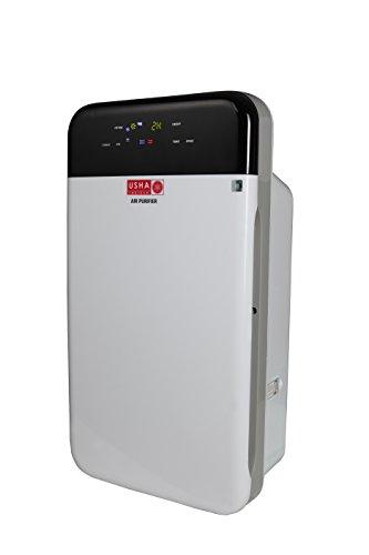 Usha Shriram Air Purifier With HEPA Filter 35 Watt, 400 sq ft Purification (Black & White Color)