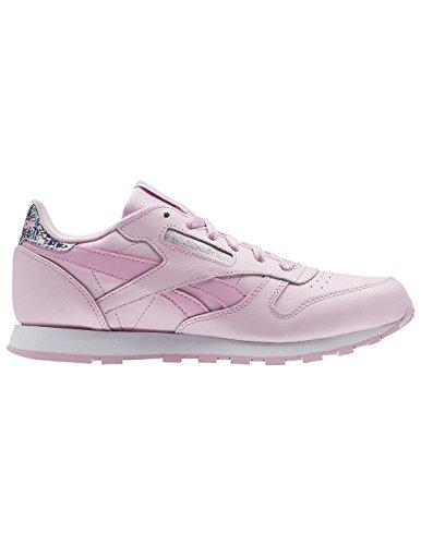 Reebok Classic Leather Pastel, Zapatillas de Running para Niñas