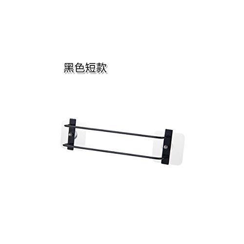 CHLCH Eisenwandbehang schuhregal Bad hausschuherahmenlochschuhe lagerregalkurz schwarz45,8 * 6,5 cm - Malibu-set Bett