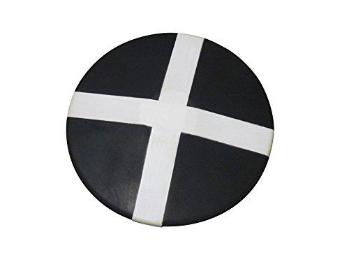 Leichtathletik - Trainingsdiskus aus Gummi mit Kreuz - 1,00 kg
