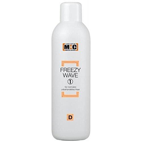 M:C Freezy Wave D1 normales unb. Haar 1000 ml Emulsions-Kaltwelle