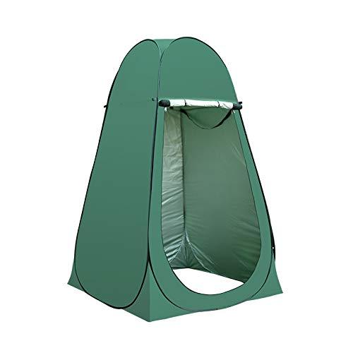 LINGJIE Außenduschzelt Warmes Badekonto Badabdeckung Ländlicher Haushalt Baby Winter Dressing Umziehen,Green