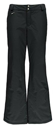 Spyder Winner Tailored Fit Pant - Pantalones de esquí para mujer, color negro, talla 10-R