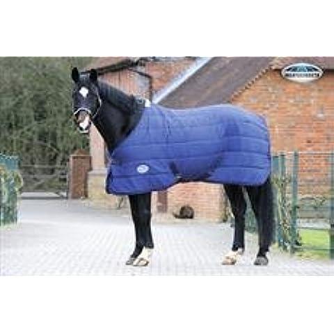 NEW Weatherbeeta sotto tappeto collo standard, Coperta per cavallo, Navy, 5'6''