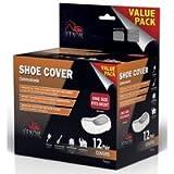 Medline ven28200Venom Schuhüberzieher Value Pack, 12-pair Pro Box