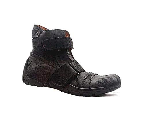 Sssxz - Stivali da Cavallerizzo per Fuoristrada, in Pelle, Giallo (Stiefel), 44 EU