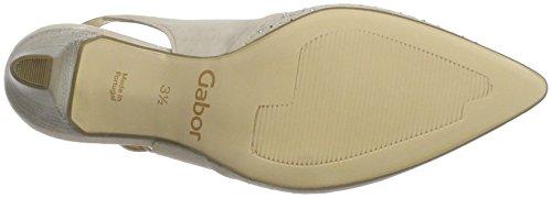 Gabor Shoes Fashion, Scarpe Col Tacco con Cinturino a T Donna Beige (skin 14)
