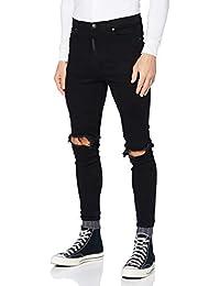 Gianni Kavanagh Herren Black Core Gk Elastic Jeans