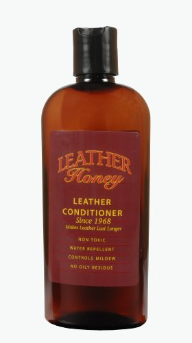 Leather Honey Leather Conditioner, the Best Leather Conditioner Since 1968, 8 Oz Bottle. For Use on Leather Apparel, Furniture, Auto Interiors, Shoes, Bags and Accessories. Made in the USA
