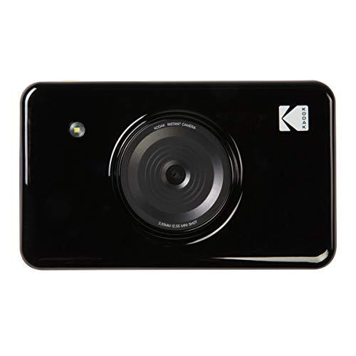 Kodak Mini SHOT Impresiones inalámbricas de 2x3 pulgadas con 4 PASS Tecnología de impresión patentada Cámara digital de impresión instantánea 2 en 1 (Negro)