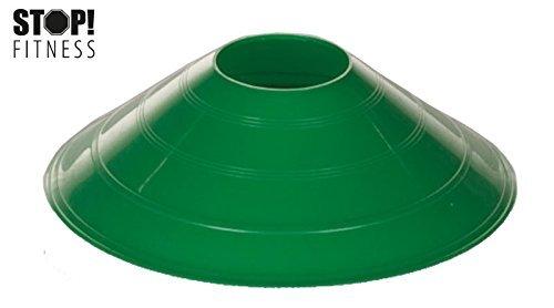 STOP! - Markierungshütchen, Ø 19,5 cm, grün