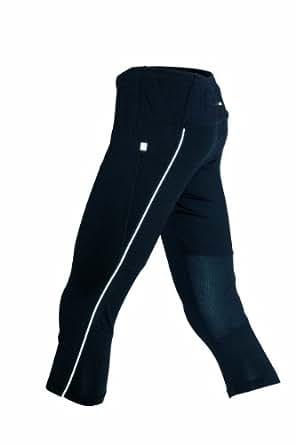 James & Nicholson Damen Sport Legging Running 3/4 Tights schwarz (black) Small