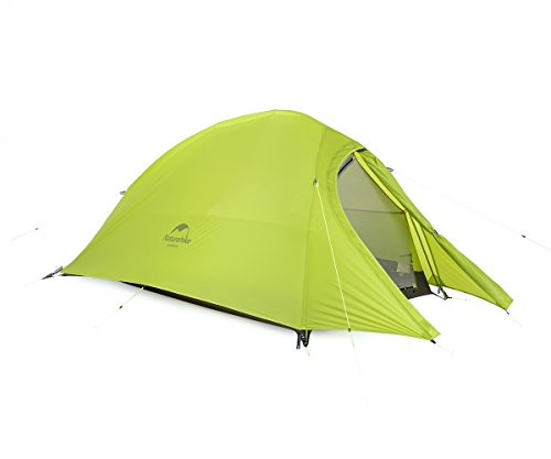 Naturehike Cloud-up Ultra-léger Tente 2 Personnes 210t Lattice Chiffon Double Couche imperméable...