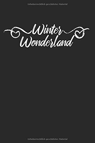 Winter Wonderland: Weihnachtsspruch | Notizbuch (A5 | liniert | 100 Seiten)