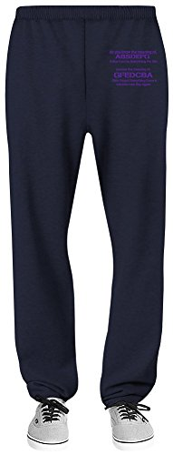 Harma Art Do You Know The Meaning of Girls Forgot Everything Done Catches New Boy Relaxed Jersey Pants - 70% Baumwolle, 30% Polyester - Hochwertige Sweatpants für Indoor & Outdoor Aktivitäten X-Large (Blue Navy Jersey Boys)