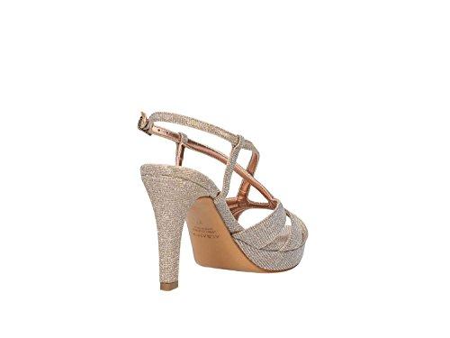 Albano 9737 Sandalo Elegante Donna Platino