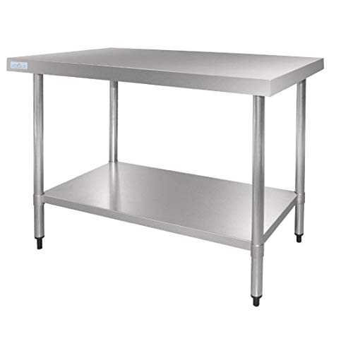 Vogue GJ504 de table en acier inoxydable, 1800 mm