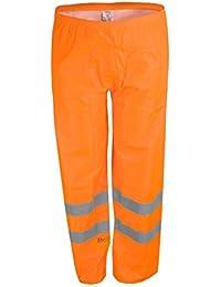 Terratrend Job 20215–3x L-5100tamaño 3X -LARGE alta visibilidad pantalones–naranja