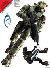 - Master Chief 2ft Room Sticker Poster (Master Cheif)