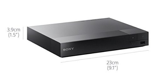 31bkWcUQ7DL - Sony BDPS1700B.CEK SMART Blu-Ray and DVD Player with Built-In Apps (new for 2016) - Black