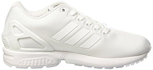 adidas Zx Flux W, Formatori Bassi Donna Bianco (Ftwr White/ftwr White/ftwr White)