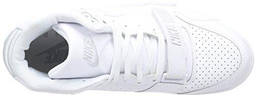 Nike Air Trainer 1 Mid, Scarpe sportive, Uomo Bianco (Weiß (White/White-Pure Platinum))
