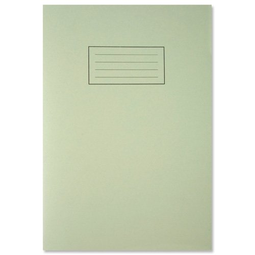 Silvine A4 Exercise Book - Lined with margin, 80 pages of 75gsm paper. Ref EX110 (210 x 297mm) [Pack of 10]