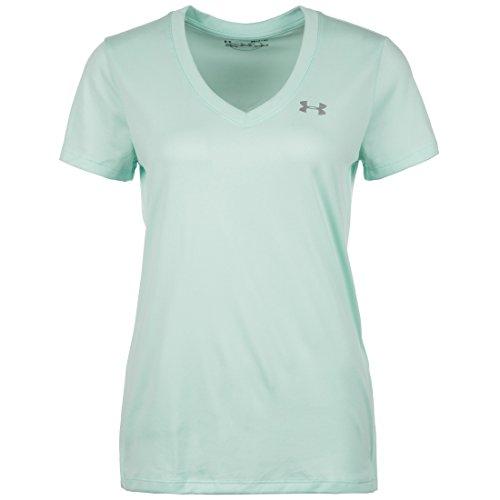 Solid Tech T-shirt (Under Armour Damen Tech Ssv-Solid Kurzarmshirt, Refresh Mint, XS)
