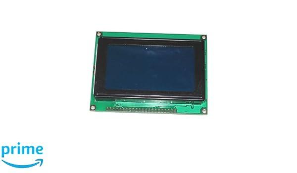 Robocraze Graphic LCD 128x64 Pixel Yellow Backlight: Amazon