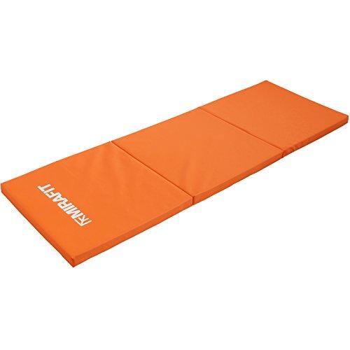 MiraFit Zusammenklappbare Gymnastikmatte - für Fitness/Workout/Yoga/Pilates - Wahl der Farben