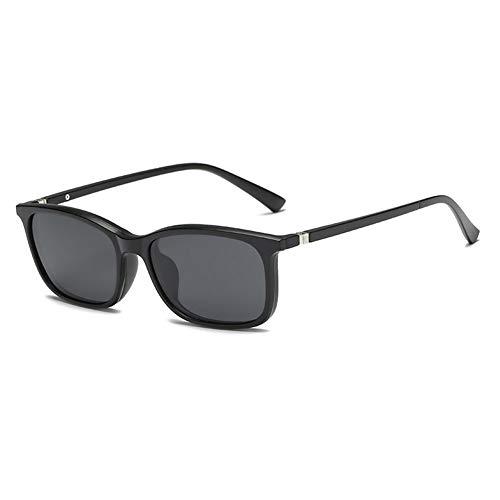 YLNJYJ Magnet Polarisierte Sonnenbrille Polaroidclip Gespiegelter Clip Auf Sonnenbrillenclip Auf Brille