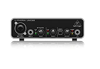Behringer UMC22 Computer Audio Interface (B00FFIGZF6) | Amazon Products