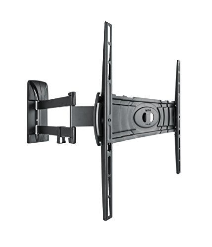 Meliconi CURVED 400DR - Soporte de pared doble rotación para TV curvos de 32