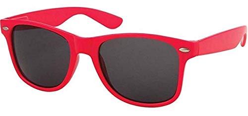 Sonnenbrille Nerdbrille retro Art. 4026 - Boolavard® TM (Orange Tönung)