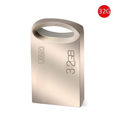 16GB / 32GB / 64GB Mini USB Flash Drive USB 2.0 Memoria Almacenamiento Thumb Stick Metal Pen Drive Disco de 16GB / 32GB / 64GB U