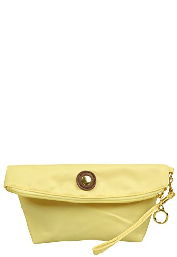 Capelli New York Clutch 'Furled' Lime