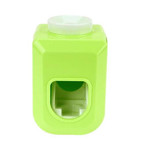 Foru-1 Automatischer Badezimmer-Tuben-Halter für Zahnpasta-Spender grün