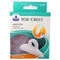 Oppo Silicone Gel Toe Crest, Size : Medium - 1 Pair by TOE CREST GEL OPPO