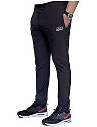 Finz Men's Cotton Track Pants,Joggers, Night Wear Pajama,Sports Gym,Lower with Zip Pockets