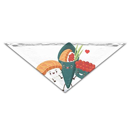 Niedliche Sushi Kostüm - Gxdchfj Hund Bandana Schal Dreieck Lätzchen