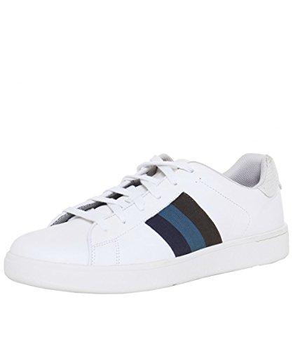 PS by Paul Smith Uomo Sneaker in pelle prato 45 Bianco