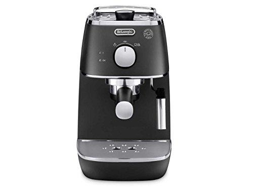 DeLonghi ECI 341.BK Espresso machine 1L 2tazas Negro - Cafetera (Independiente, Semi-automática, Espresso machine, Dosis de café, De café molido, Negro, 50/60 Hz)