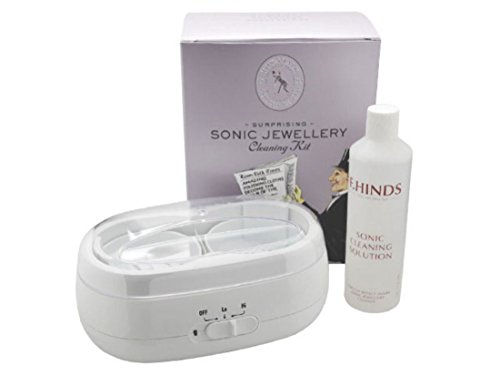 town-talk-double-tank-sonic-jewellery-care-cleaner-cleaning-kit-brush