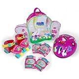 Amijoc Toys 0879 - Mochila Mini Roller Con Protecciones Peppa Pig Amijoc