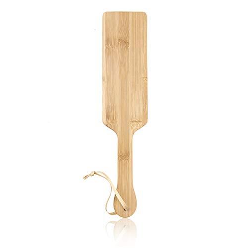 Kostüm Sorority - FIZZENN Bambus Spanking Paddles Spielzeug für Couple Role Play Kostüm