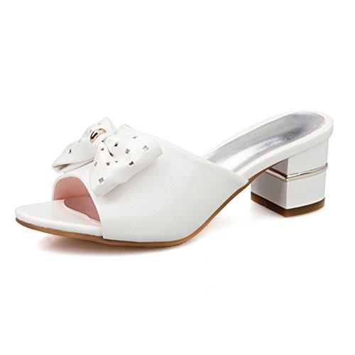 Versione coreana di Papillon indossando pantofole una sola parola/tacchi ruvido sabbia A