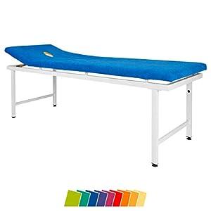 Sport-Tec Massagenliegenbezug mit Nasenschlitzöffnung für Therapieliegen, 200×85 cm