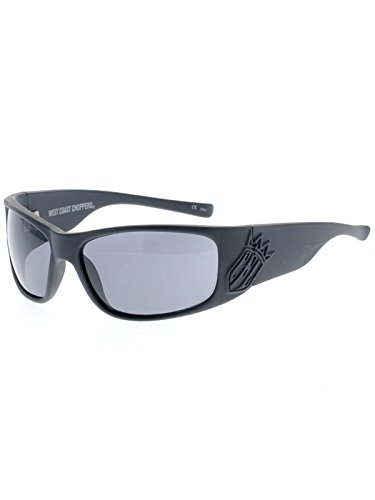 West Coast Choppers Gafas De Sol Choppers For Life Smoked (Default, Gris)