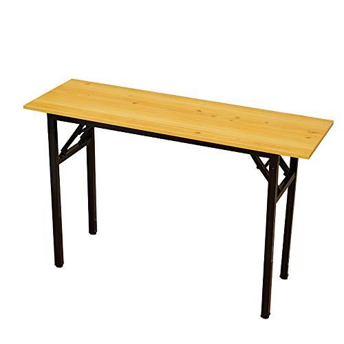 LF-chair Klappschreibtisch Büro Besprechung Langer Tisch Einfacher Schreibtisch Computer Lerntisch Outdoor Camping Tisch Klappschreibtisch aus Holz (Edition : A) (Handwerk Verstärkungen)